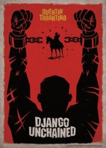 django unchained cool poster chains breaking classic