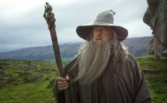 Gandalf is seriously stoned, like, the entire movie